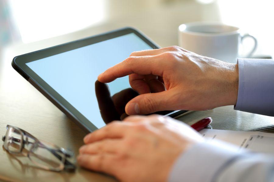 Uso de tablet nos EUA