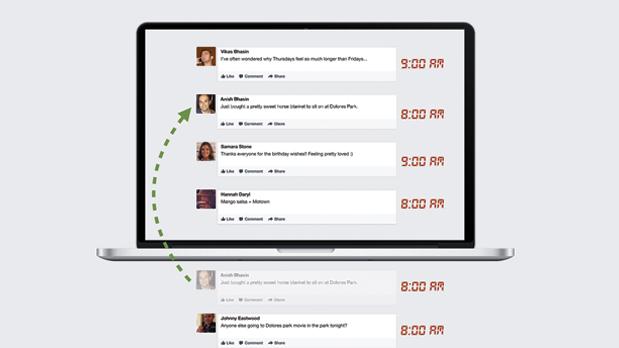 Feed de notícias Facebook