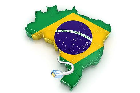 Acessos da Internet no Brasil