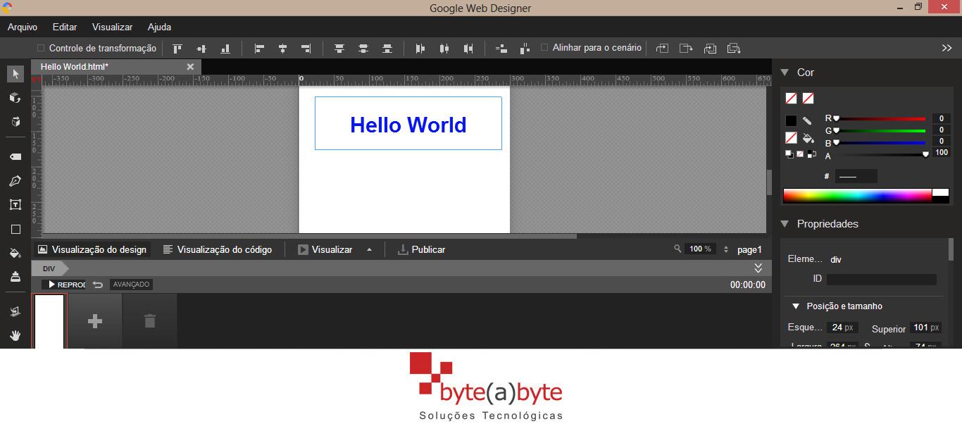 Google cria ferramenta para criação de conteúdo HTML 5